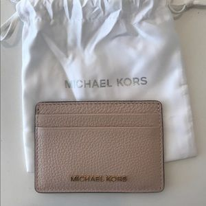 Michael Kors Light Pink Cardholder